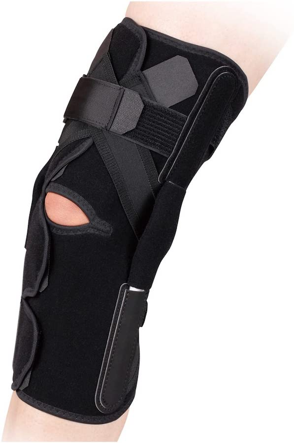 【お取寄せ商品】アルケア ニーケアー・PCL 後方制限付膝サポーター S 両脚兼用 左右兼用 4900070192055