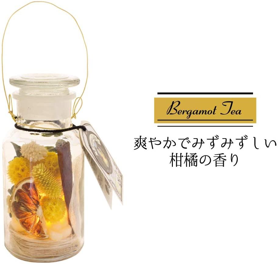 熱くならないLEDライトを使用したアロマ ライト 瓶に入ったドライフラワーがとってもオシャレ セール ノルコーポレーション アロマライト ジャルダンボタニーク フレグランスライト ベルガモットティー 柑橘の香り OA-JBT-2-1 4535304282150 インテリア かわいい 女性 芳香剤 新作販売 ボタニカル おしゃれ インスタ映え お返し キャンプ 間接照明 部屋 ルーム