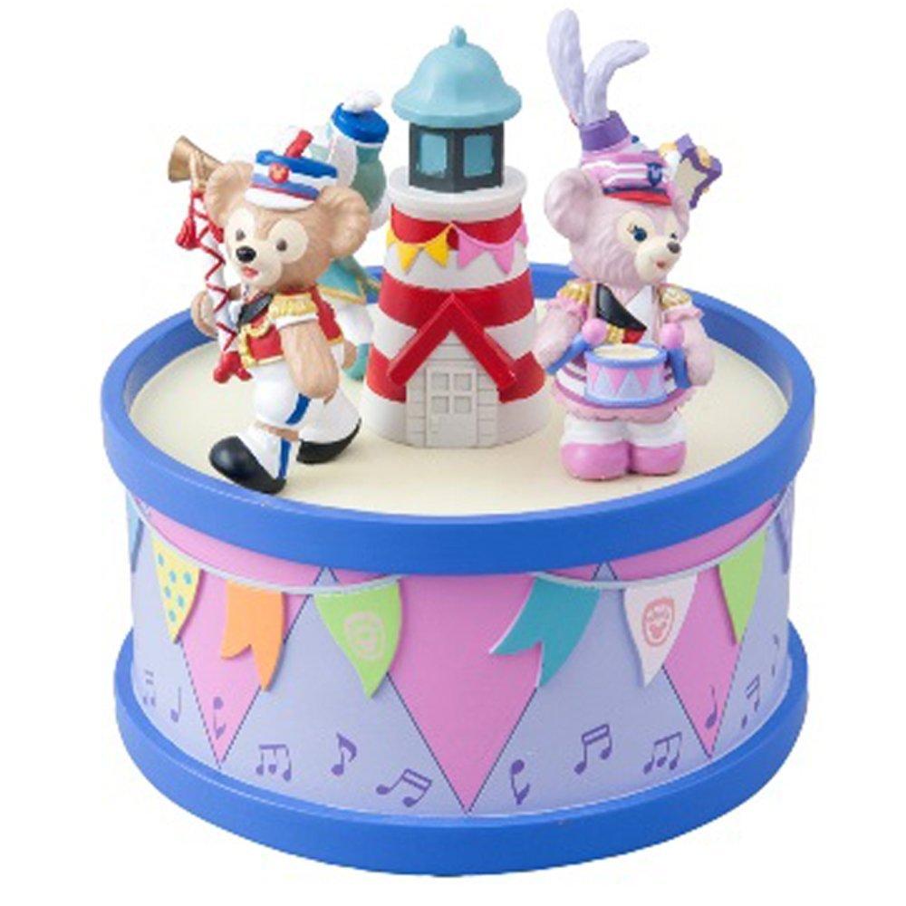 東京 ディズニー リゾート 35周年 ダッフィー &フレンズ の ハッピーマーチングファン オルゴールクリスマス プレゼント ギフト 男の子 女の子 男性 女性