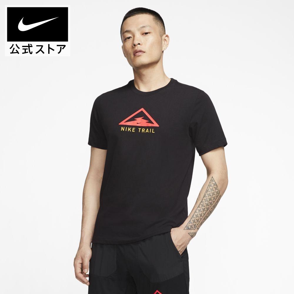 60%OFF ナイキ 新作アイテム毎日更新 Dri-FIT トレイル メンズ ランニング Tシャツアパレル トップス Tシャツ 半袖Tシャツ 半袖 休日 ジョギング スポーツ