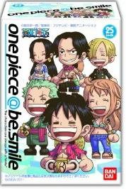 万代one piece@be.smile(食玩)BOX
