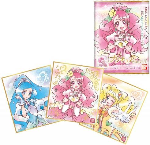プリキュア色紙ART(食玩) BOX 2020年2月24日発売