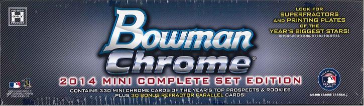MLB 2014 BOWMAN CHROME MINI COMPLETE SET EDITION(送料無料)