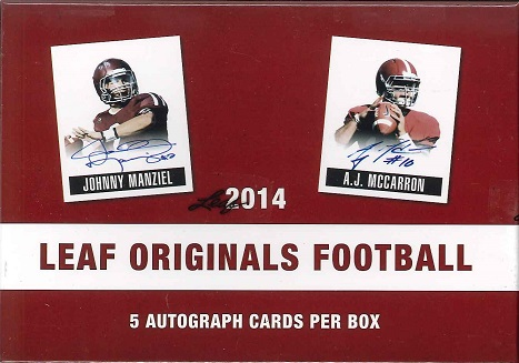 NFL 2014 LEAF ORIGINALS FOOTBALL