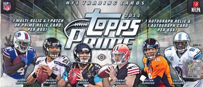 ■セール■NFL 2014 TOPPS PRIME FOOTBALL BOX