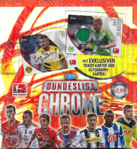 2015 TOPPS BUNDESLIGA CHROME SOCCER BOX