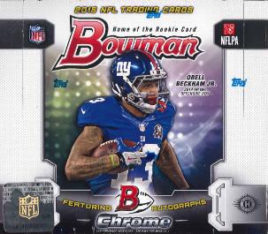 NFL 2015 BOWMAN FOOTBALL BOX