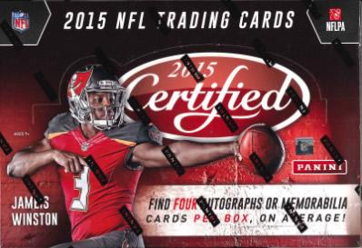 NFL 2015 PANINI CERTIFIED FOOTBALL BOX