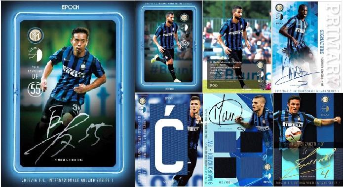 ■セール■EP 2015/16 インテル・ミラノ フットボールカードセット シリーズ1 by AUTHENTICA