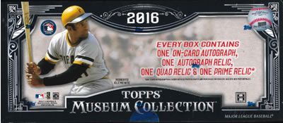 MLB 2016 TOPPS MUSEUM COLLECTION BASEBALL BOX