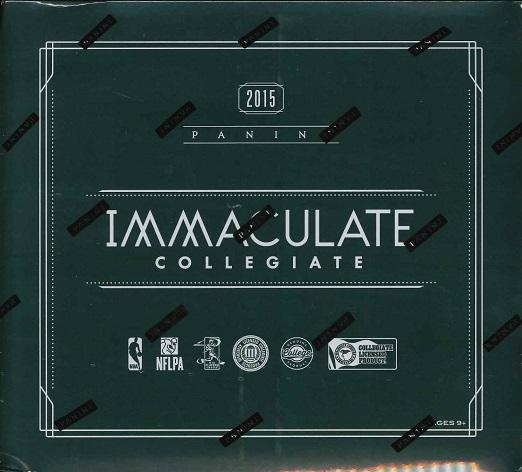 ■セール■2015 PANINI IMMACULATE COLLEGE MULTI-SPORT BOX(送料無料)