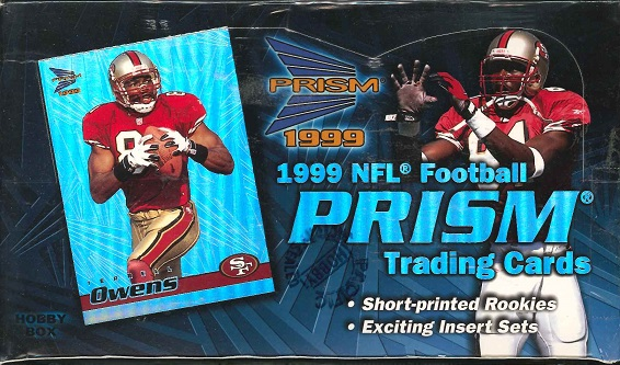 NFL 1999 PACIFIC PRISM FOOTBALL HOBBY BOX