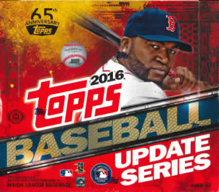 MLB 2016 TOPPS UPDATE JUMBO BOX (送料無料)