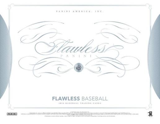 2016 PANINI FLAWLESS BASEBALL (送料無料)