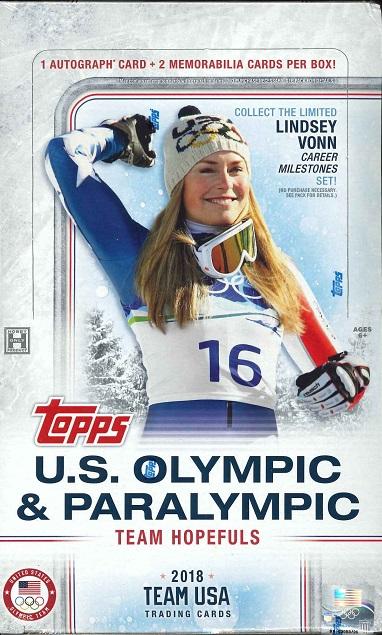 2018 U.S.OLYMPIC & PARALYMPIC TEAM AND HOPEFULS BOX(送料無料)