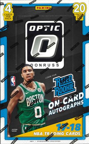 NBA 2017/2018 DONRUSS OPTIC BASKETBALL HOBBY BOX
