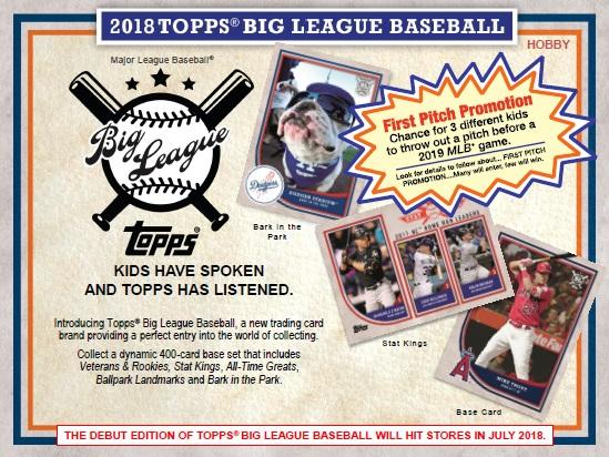 533129ff4a NIKI ONLINE SHOP  MLB 2018 TOPPS BIG LEAGUE BASEBALL BOX