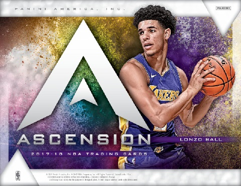 NBA 2017/2018 PANINI ASCENSION BASKETBALL BOX (送料無料)