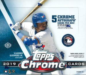 MLB 2019 TOPPS CHROME BASEBALL JUMBO BOX(送料無料)