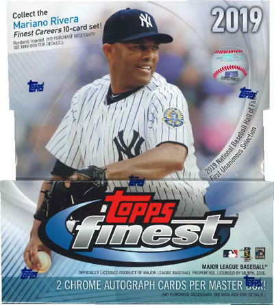 MLB 2019 TOPPS FINEST BASEBALL BOX (送料無料)