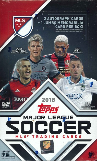 2018 TOPPS MLS(MAJOR LEAGUE SOCCER) BOX