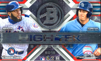MLB 2018 BOWMAN HIGH TEK BASEBALL BOX(送料無料)