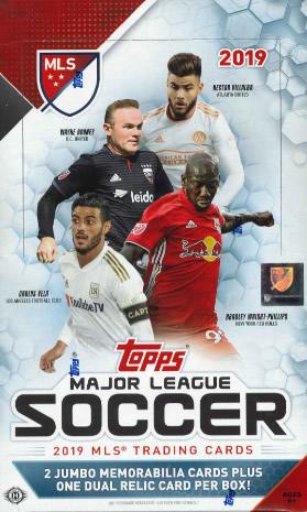 2019 TOPPS MLS(MAJOR LEAGUE SOCCER) BOX
