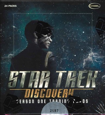 2019 RITTENHOUSE STAR TREK DISCOVERY SEASON ONE TRADING CARD BOX