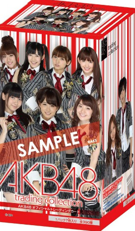 "AKB48 official trading card ""AKB48 official trading collection"" BOX"
