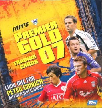TOPPS PREMIER GOLD 2007