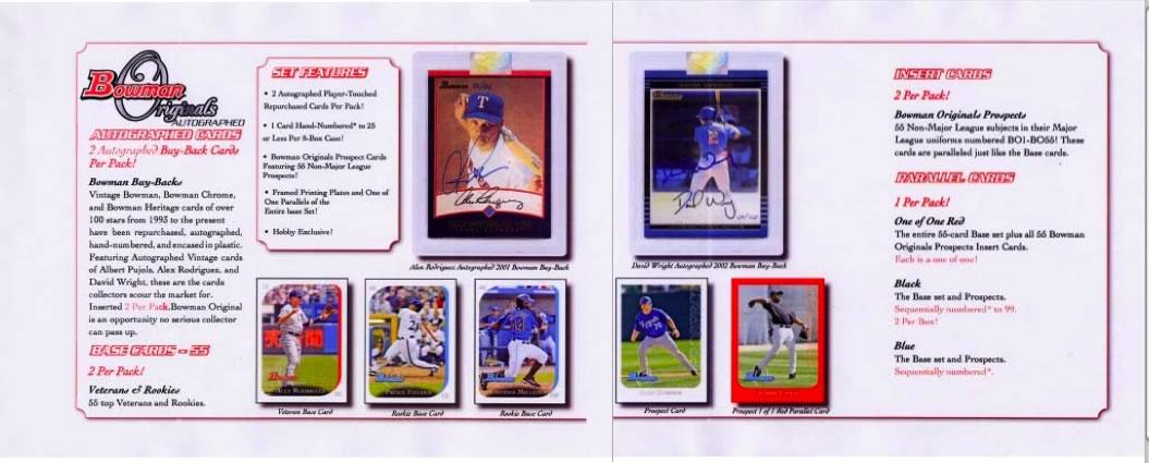 ?セール?MLB 2006 BOWMAN ORIGINALS