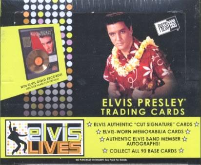 ELVIS PRESLEY TRADING CARDS 『ELVIS LIVES』 BOX