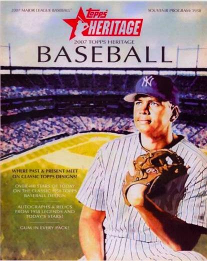 MLB 2007 TOPPS HERITAGE
