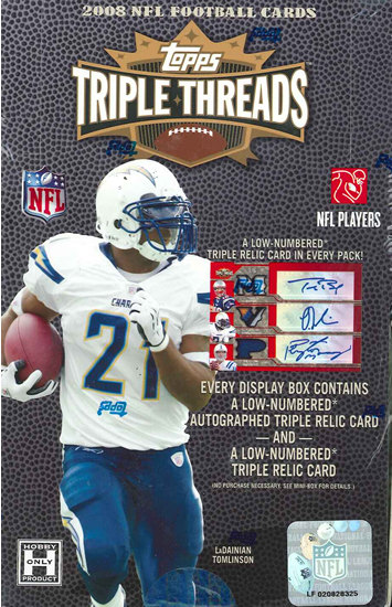 ■セール■NFL 2008 TOPPS TRIPLE THREADS