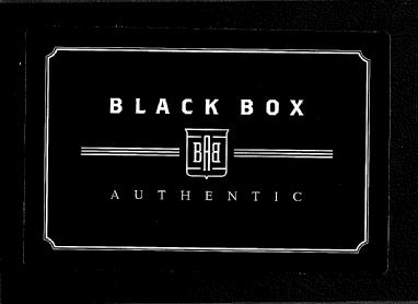 2009 DONRUSS PANINI BLACK BOX