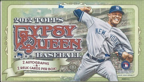 MLB 2012 TOPPS GYPSY QUEEN BASEBALL BOX(送料無料)