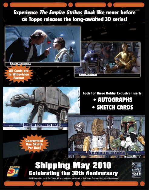 星球大战帝国的反攻WIDEVISION 3D贸易卡