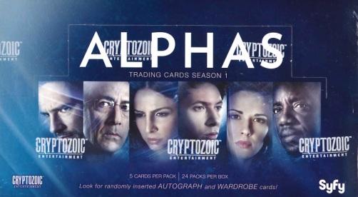 ALPHAS TRADING CARDS SEASON 1