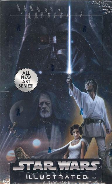 2013 TOPPS STAR WARS ILLUSTRATED: A NEW HOPE スターウォーズイラストレイテッド「新たなる希望」トレーディングカード