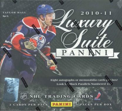 ■セール■NHL 2010/2011 PANINI LUXURY SUITE