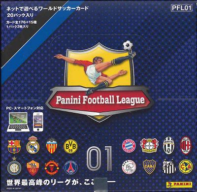 ■Sale ■ PANINI FOOTBALL LEAGUE 01 [PFL01] BOX