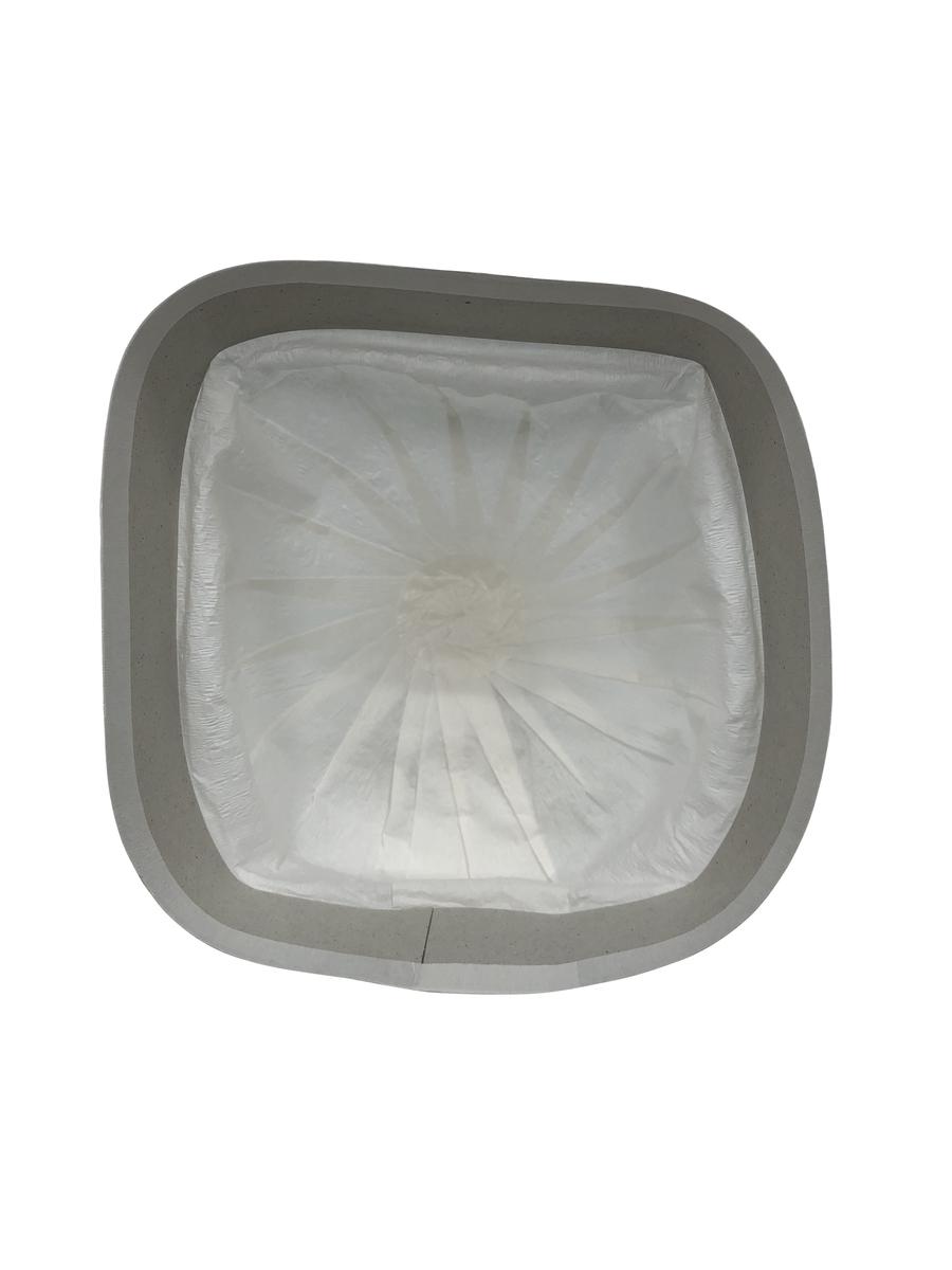 NIKKO 使い捨てヘルメット用内装インナー【120枚入り】(来客用・紙帽子・ホワイトハット・ヘルメットインナー・衛生面確保・)