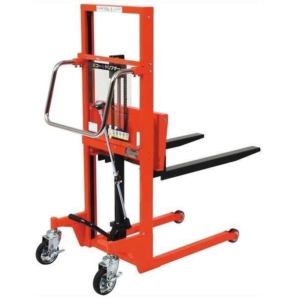 超安い品質 ゴールドリフター TOSEI GLF-H150-9 油圧・足踏式:日幸 店 マスト式 東正車輌-DIY・工具