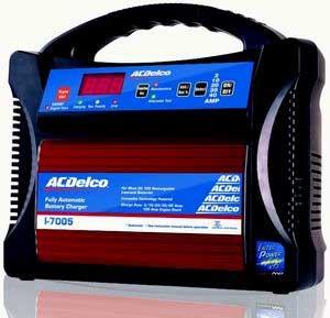 ACDelco(エーシーデルコ) 全自動バッテリー充電器 12V専用 AD-0005  1個
