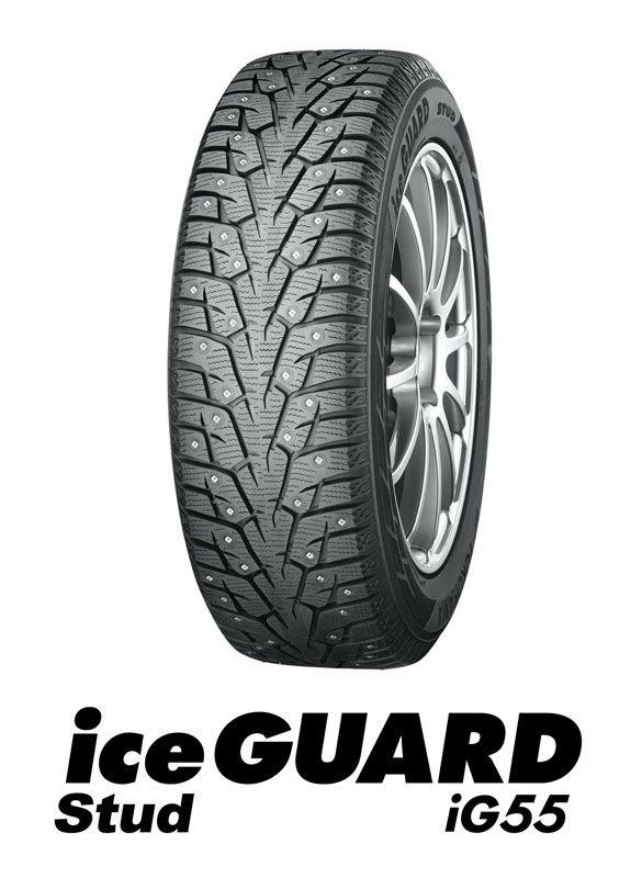 ヨコハマ 185/60R15 86T スパイクタイヤ アイスガード IG55 iceGUARD YOKOHAMA 雪道専用
