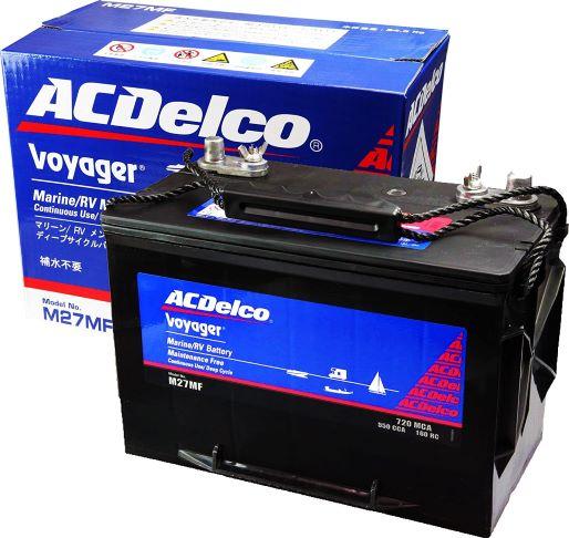 AC Delco Voyager 永遠の定番 1個 M27MF 激安通販販売