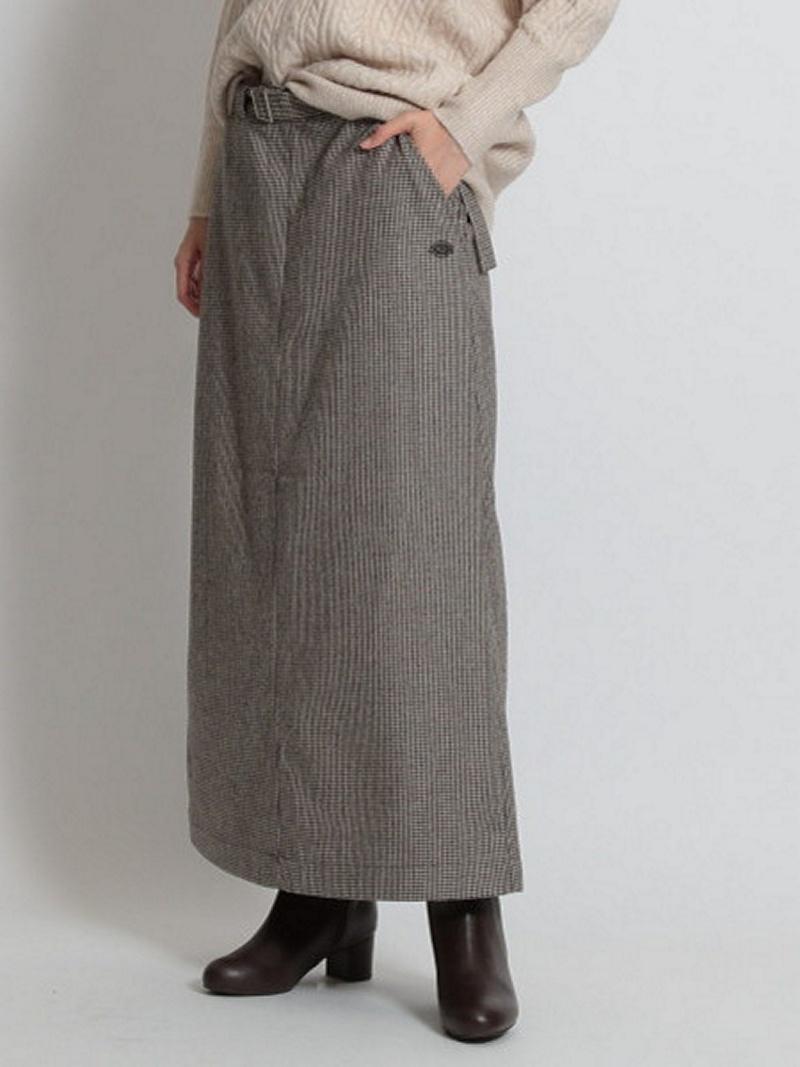 [Rakuten BRAND AVENUE](W)DKS/ウールコンタイトSK ニコアンド スカート【送料無料】