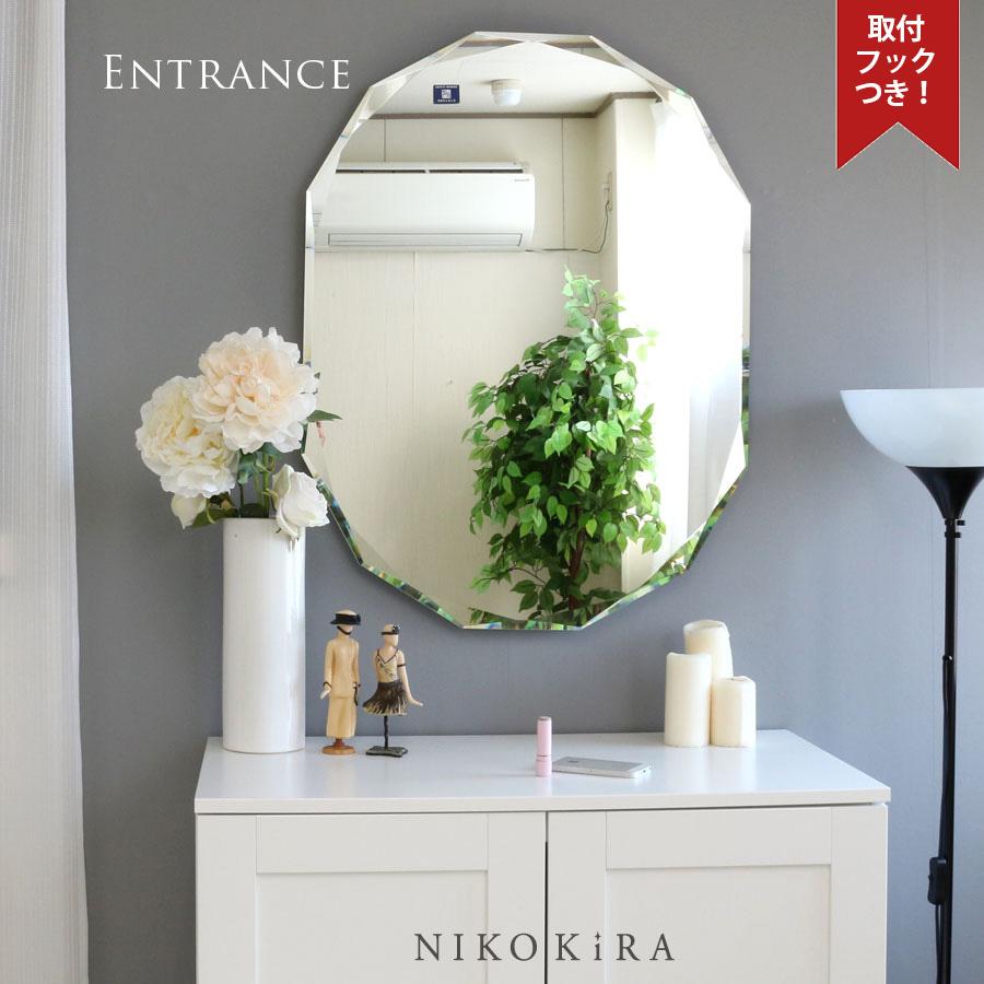 【5%OFF 】 鏡 ミラー 壁掛け おしゃれ ウォール 姿見 全身 オシャレ 玄関 北欧風 北欧 リビング 洗面 トイレ 寝室 インテリア ノンフレーム 美しい 上品 綺麗 かわいい 優雅 豪華 エレガント 上品 上質 高級 セレブ SUC-011