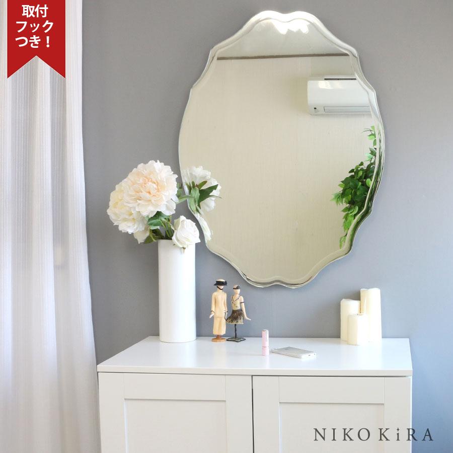 【5%OFF 】 鏡 ミラー 壁掛け おしゃれ ウォール 姿見 全身 オシャレ 玄関 北欧風 北欧 リビング 洗面 トイレ 寝室 インテリア ノンフレーム 美しい 上品 綺麗 かわいい 優雅 豪華 エレガント 上品 上質 高級 セレブ SUC-012