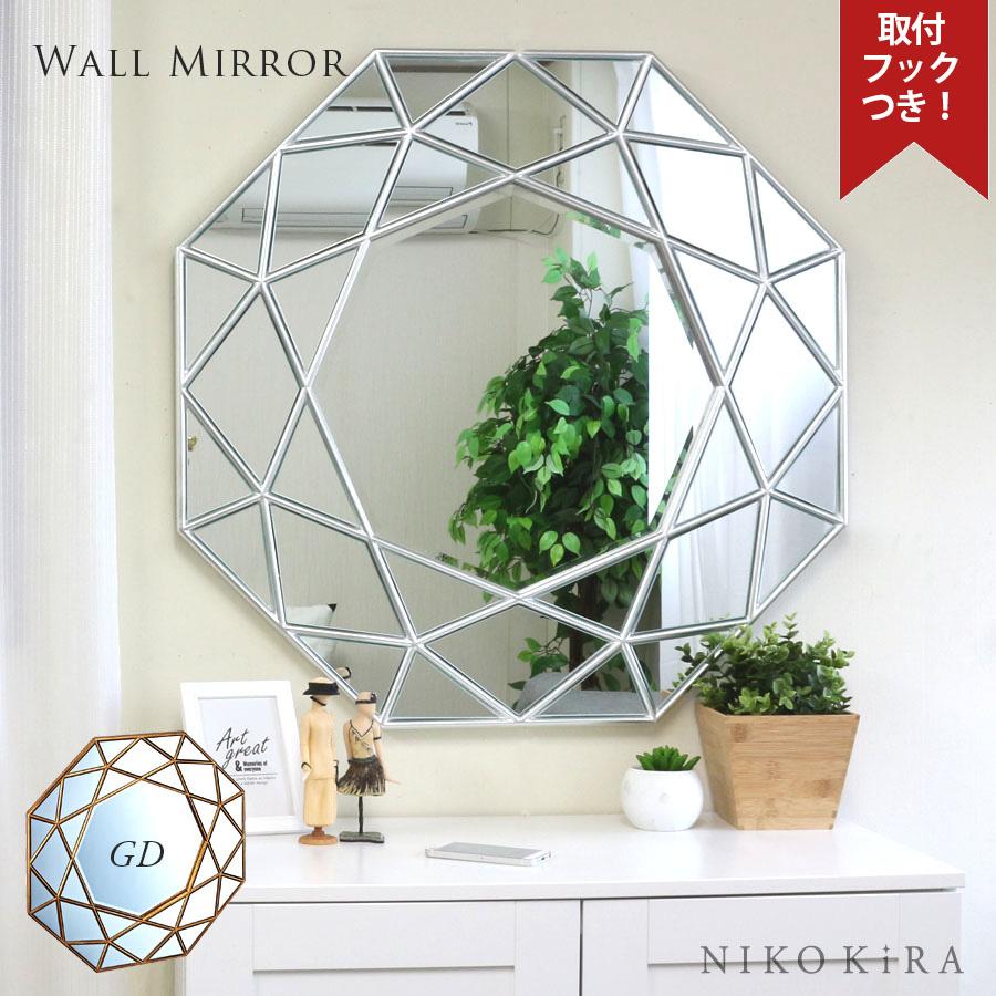 Photo Salon Feng Shui mirror wall hangings fashion octagon feng shui entrance wall mirror 80cm  wall hangings fashion designer interior good luck north europe washing face